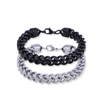 Stainless Steel Men Bracelet Chain Franco Link Bracelet