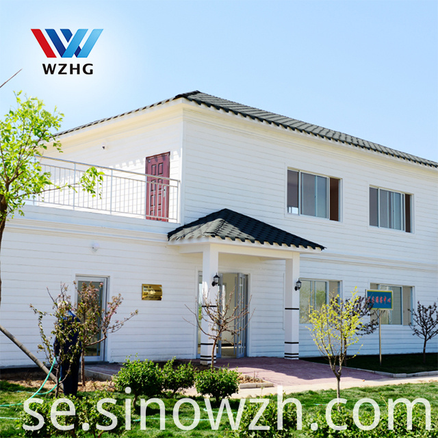 Two Storey Light Steel Villa