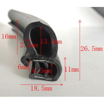 Preço de fábrica EPDM Rubber Extruded Weather Seal Strips