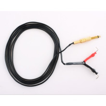 Silicona goma tatuaje Clip cable fuente