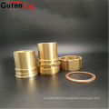 "GutenTop 1/2"" Forged Brass Male Threaded Hex Nipple/NPT Pipe Fitting for oil gas and water Nipple fitting"