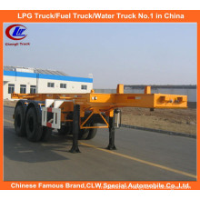 Heavy Duty 40ft 2-Axle Skeletal Container Trailer for Sale