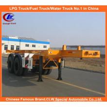 Heavy Duty 40ft 2-Axle Skeletal Reboque Container para Venda