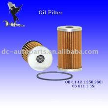 Inserto de filtro de aceite 11 42 1 256 260 para BMW