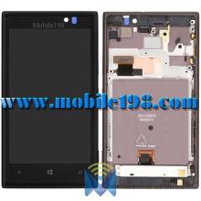 Pantalla LCD con carcasa frontal para Nokia Lumia 925 piezas de teléfono móvil