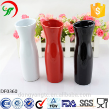 vasos de logotipo personalizado por atacado, vasos de porcelana, vaso de flor de cerâmica