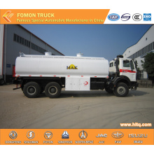 Beiben 6x4 Chemical Liquid Transport Truck Capacity 20CBM