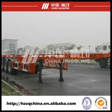 Новые 40ft скелетных контейнера прицеп-шасси (HZZ9400TJZP)