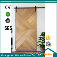Customize Veneer MDF Sliding Barn Door