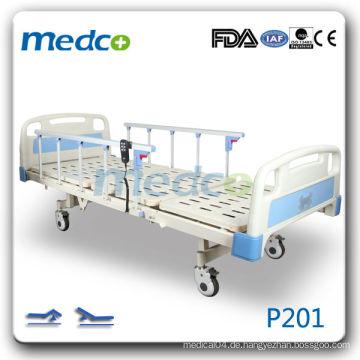 P201 Krankenhaus Zimmer elektrische Erholung Bett