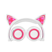 BSCI Factory Cat Ear Headphone in Stocks