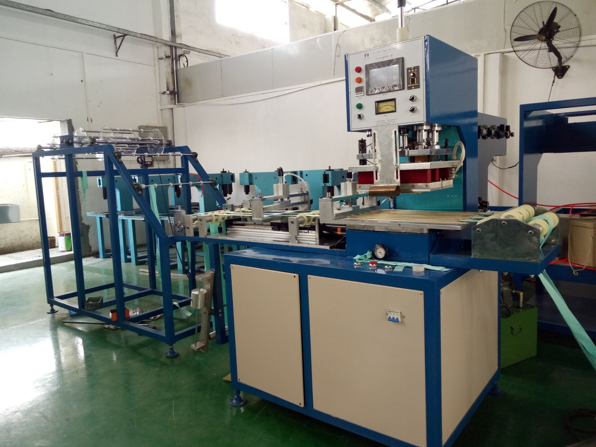 belt embossing machine