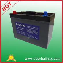 Batería terminal profunda auto del gel del ciclo de 100ah 12V para el infante de marina