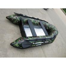 Barco inflável de PVC popular para pescar ou trabalhar
