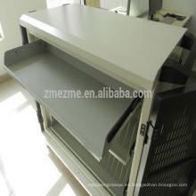 ZMEZME herramienta de servicio de carga de almacenamiento de almacenamiento de acero móvil personalizado para tableta, comercio garantizar tableta portátil carro de carga con casillero
