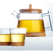 Fashion Design Glass Water Pot Glass Tea Set