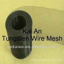 99.95% tungsten weave wire mesh