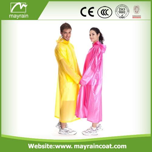 PVC Raincoat for Hiking