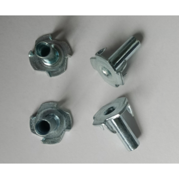 m4x16 Half thread 4 pines Tee Nuts
