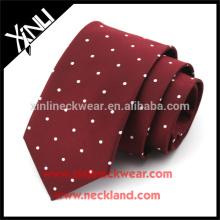 Cravates formelles tissées à la main en soie tissée à la main de noeud parfait de 100%