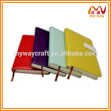 Wholesale Cheap Custom school notebook with soft leather cover notebook