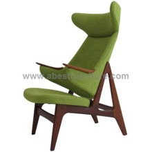 Danish Arne Vodder Ox high-back chair