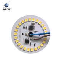 rondes de circuit de lumière menées, carte de lumière de secours