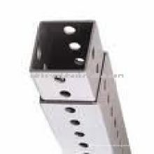 Stahl Quadrat Schild Post