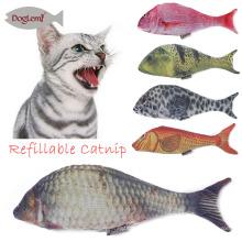 Schöne Spielzeug Simulation Plüsch Fisch Katze Spielzeug Interaktive Kauen Littlest Pet Shop Spielzeug Für Katze