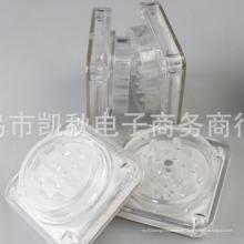Broyeur de main de broyeur de tabac en plastique acrylique de fumée de tabac