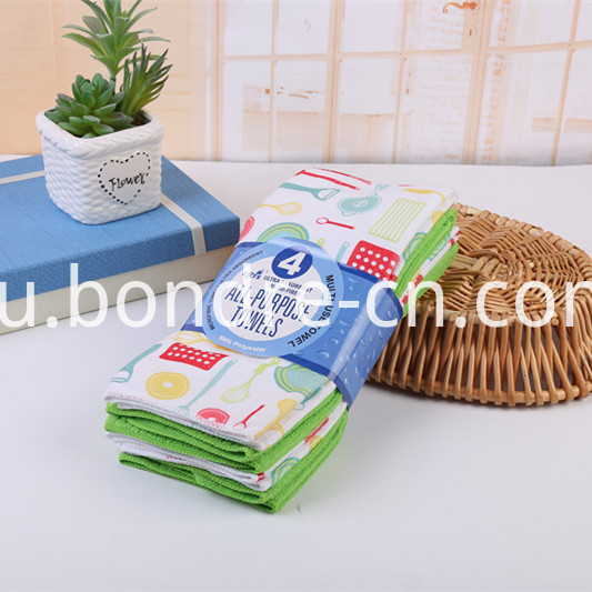 Printed Assorted Towels Pack (2)