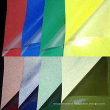Iridescent/ Rainbow Reflective Spandex/ Stretchable Fabric in Clothing Making