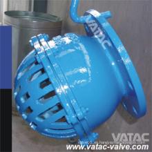 Válvula de pie con brida RF de acero fundido