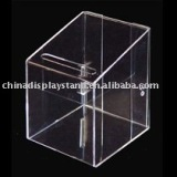 Clear Acrylic Dinner Suggestion Box
