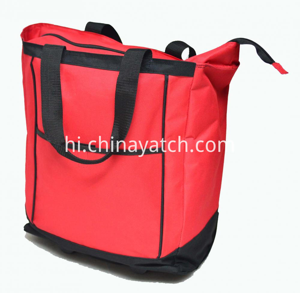 Wheeled Trolley Shopping Bag