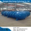 Minimum capacity uesed plastic refining pyrolysis machine
