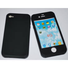 Cell Phone Silicon Case for Apple iPhone4g/S
