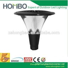 CE alumínio IP65 jardim vertical estilo levou iluminação