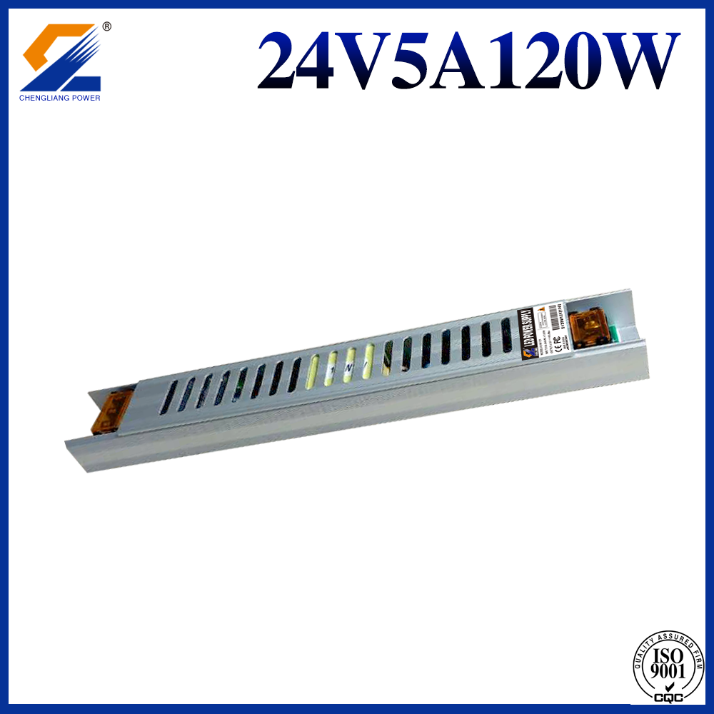 24V 5A 120W Slim SMPS for LED Strip