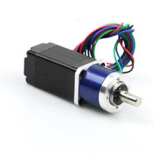 Mini Gear Motor High Torque Stepper Motor 16oz-in with Gearbox Ratio 4.75