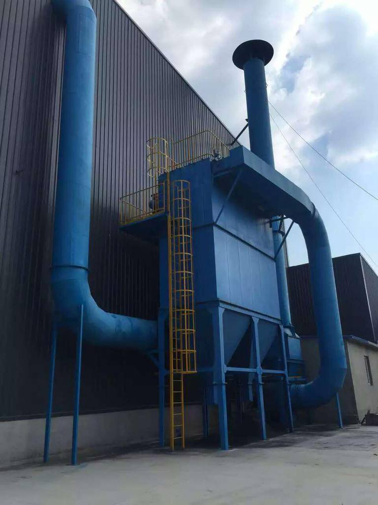 Limestone dust collector