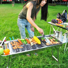 Portable Folding Charcoal BBQ Grill Tool