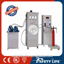 Manual Carbon Dioxide fire extinguisher filler machine