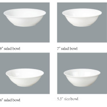 Porcelain Salad Bowl, Soup Bowl