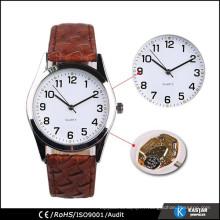Montre-cadeau avec bracelet en crocodile montre pu bracelet