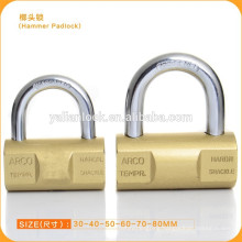 Golden Plated Hammer Padlock