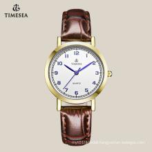 Top Quality Women′s Quartz Watch with Blue Hands 71042