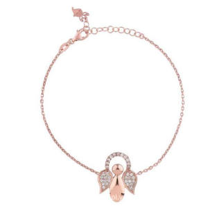 Guardian Angel Bracelet Rose Gold