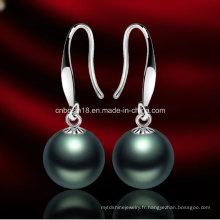 Boucles d'oreilles en perles de haute qualité pour filles