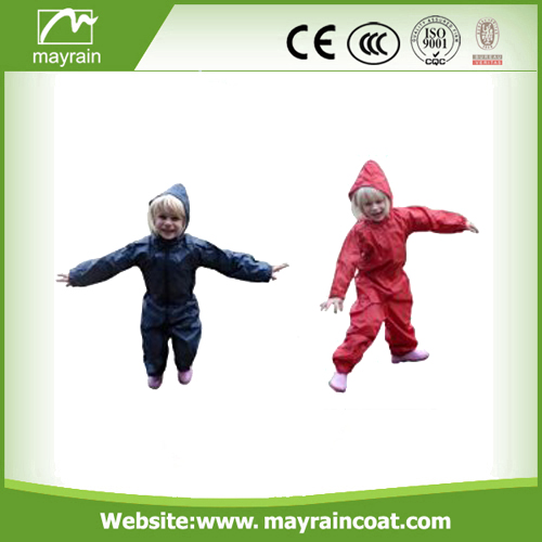 Child Printed Rainsuit